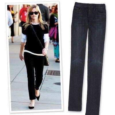 Совет 8: Выбирайте простые, ничем не украшенные джинсы