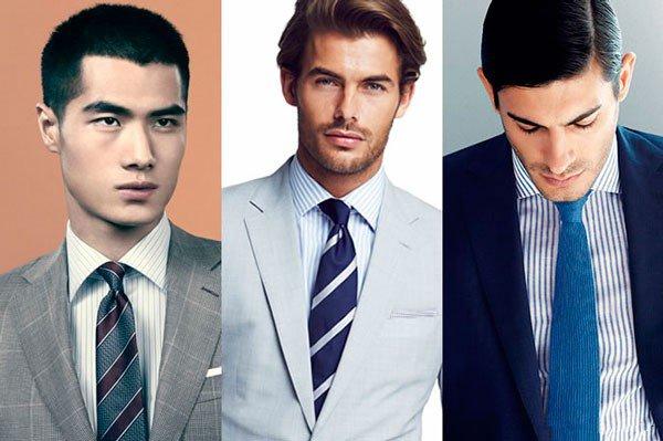 С каким галстуком сочетать рубашку в полоску?
