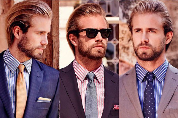 Подбираем галстук к рубашке в полоску