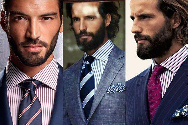 Хороший выбор галстука для рубашки в полоску