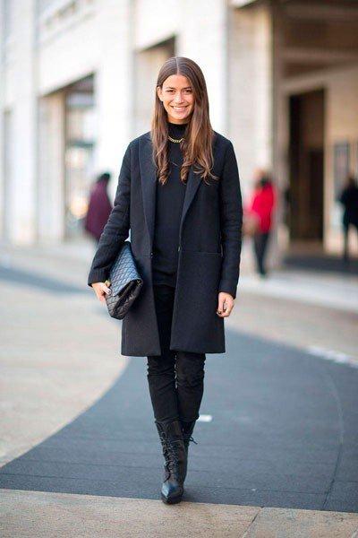 Amanda Weiner в суперском пальто