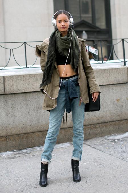 Подрезанные джинсы отлично будут смотреться с каблуками, не так ли?