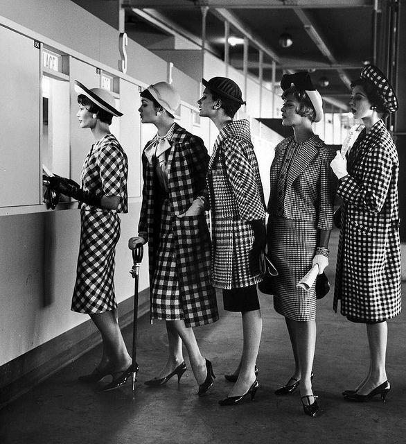 Фотогррафия девушек для журнала LIFE Magazine, 1958