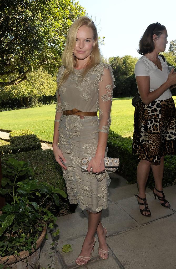 Кейт Босуорт посещает Burberry Beauty в Беверли Хиллз