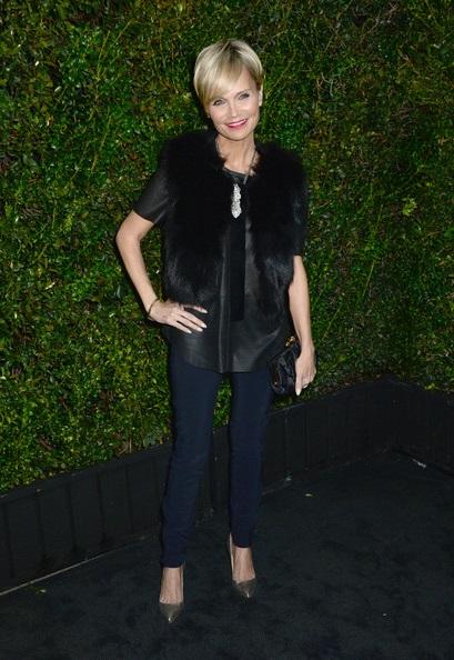 Кристин Ченовет посещает ужин Chanel в Лос-Анджелесе