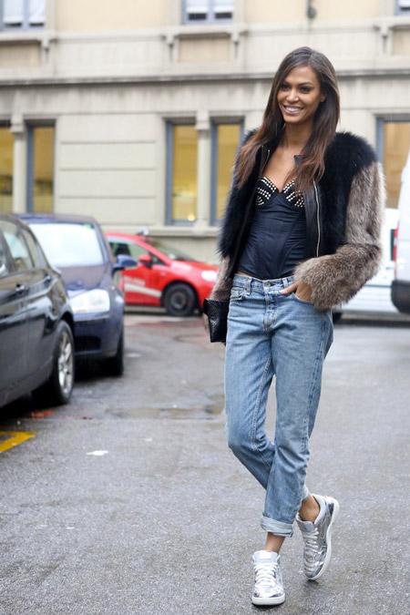 Подвернутые джинсы и кроссовки - да это же Гламурный Спорт