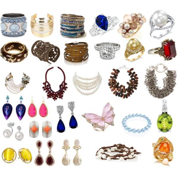 Серьги, браслеты, кольца