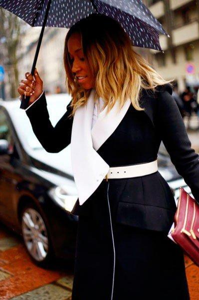 Shiona Turini в Gucci. Неделя моды в Милане осень/зима 2015