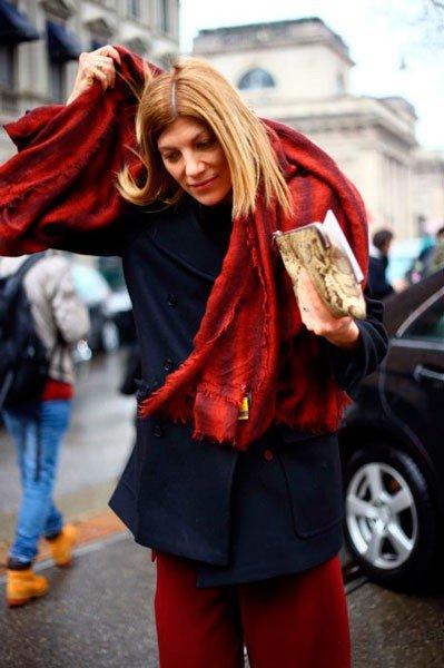 Virginia Smith в Gucci. Неделя моды в Милане осень/зима 2015