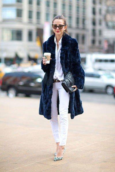 пальто от Jocelyn Fur