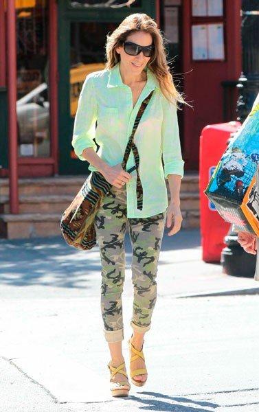 Звезда «Секса в большом городе» Сара Джессика Паркер провожает детей в школу (12 июня 2013, Нью-Йорк)