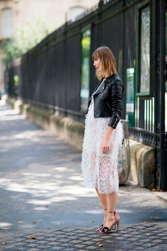 Анна Зюрова на неделе моды в Париже весна/лето 2015