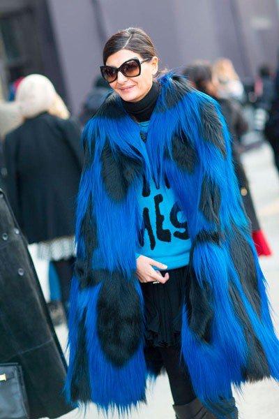 Giovanna Battaglia, такое пальто не часто увидишь