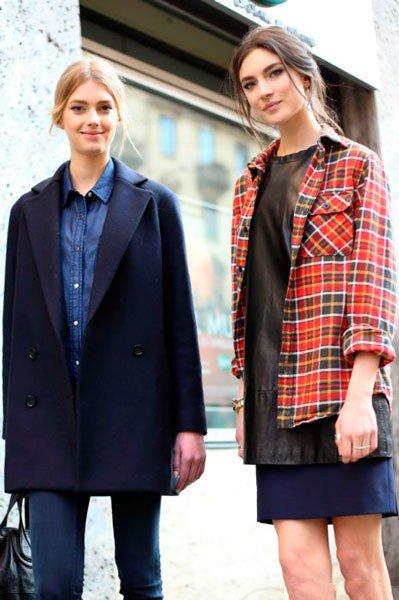 Девушки в одежде от Dolce&Gabbana. Неделя моды в Милане осень/зима 2015