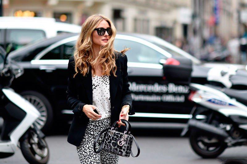Оливия Палермо на неделе моды в Париже весна/лето 2015