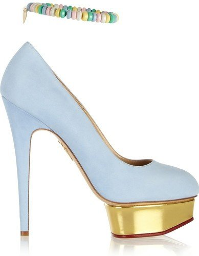 Туфли Charlotte Olympia Sweet Dolly Suede