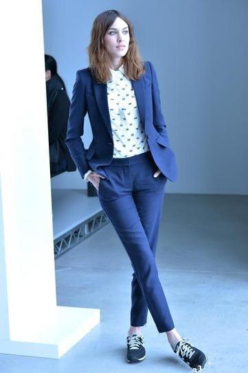 Alexa Chung in Calvin Klein