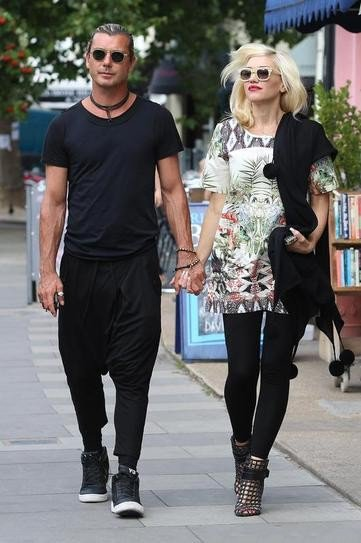 Гвен Стефани с мужем Гэвином Россдэйлом