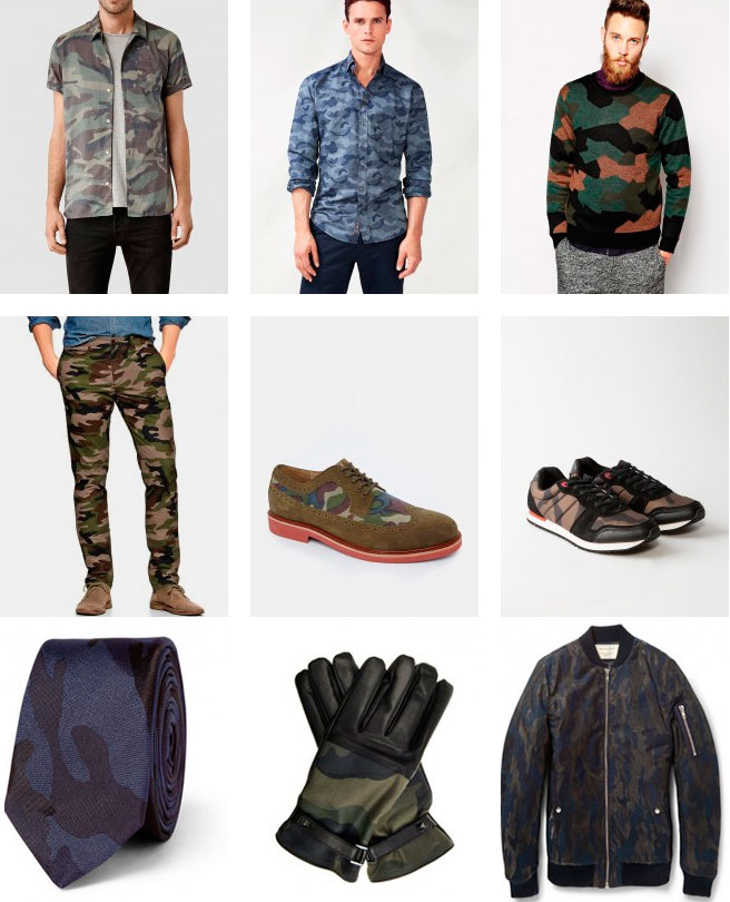 Ключевые элементы мужской одежды стиле милитари