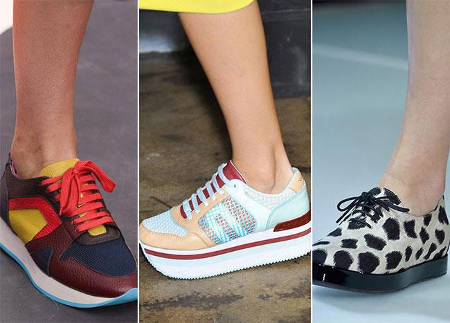 Спортивные кроссовки - тенденции весна-лето 2015