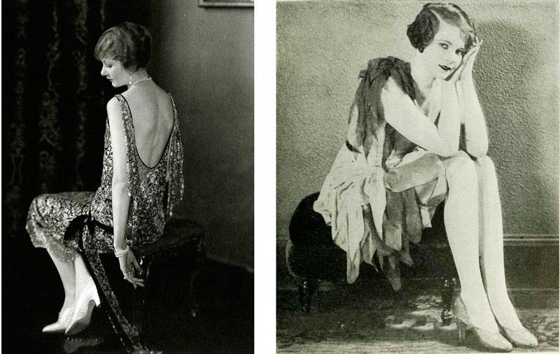 Девушка в платье, 1920-е года