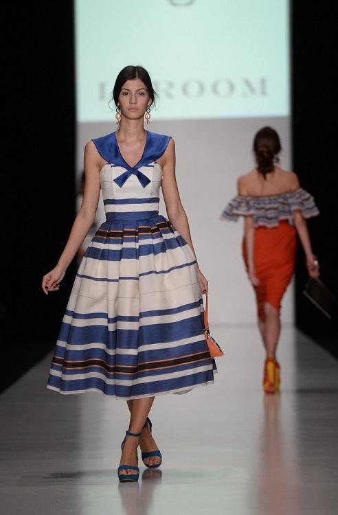Показ коллекции бренда Laroom на Mercedes-Benz Fashion Week Russia|trn