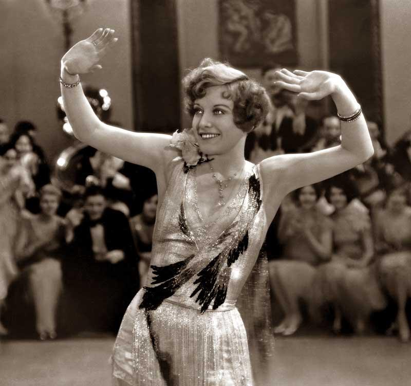 Джоан Кроуфорд во время танца, 1928 год