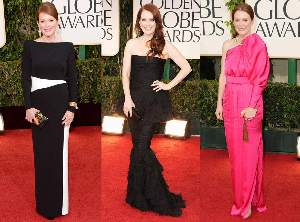 Джулианна Мур в платьях от Tom Ford, Chanel и Lanvin