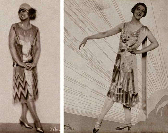 Летние платья 1927 года