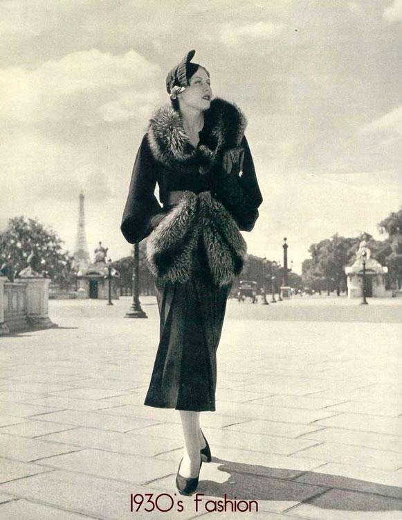 Модная девушка, 1930 год