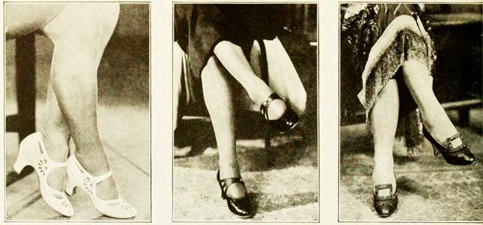 Модная обувь 1920-х годов