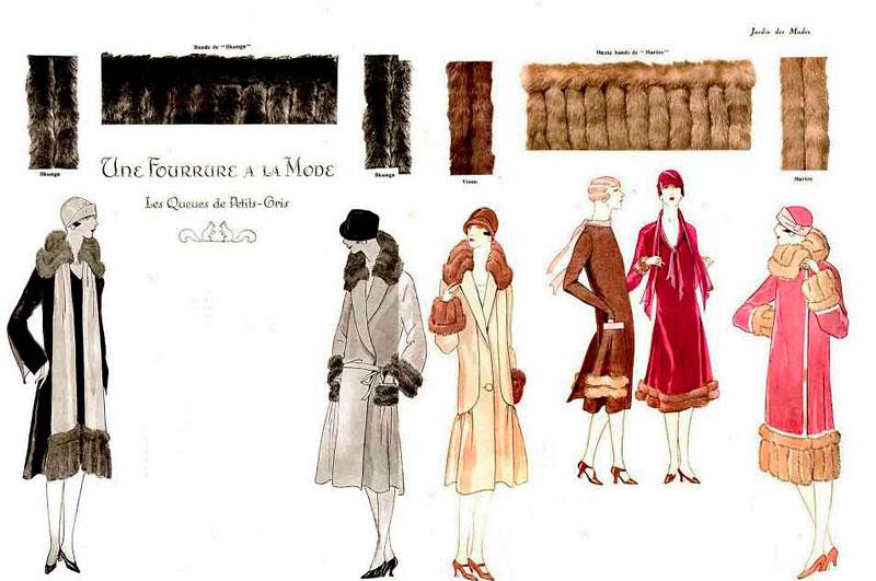 Модные пальто 1925 год