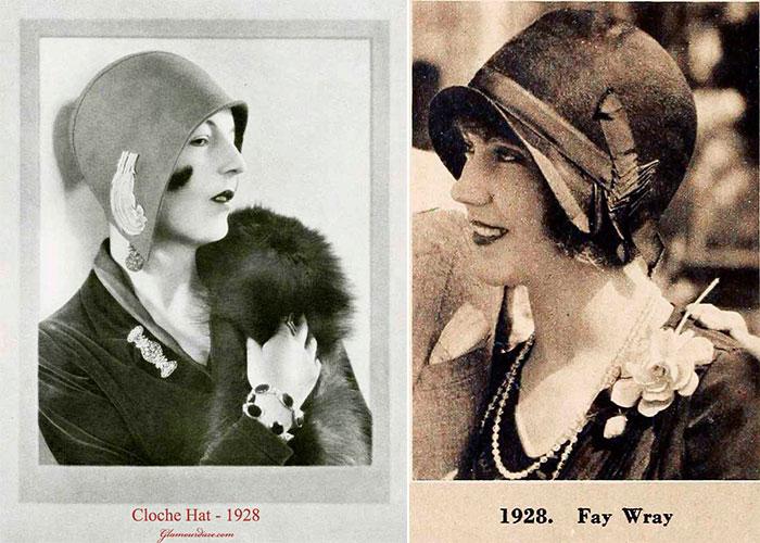 Модные шляпки 20-х годов