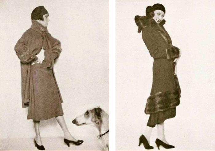 Модные силуэты 1929 года