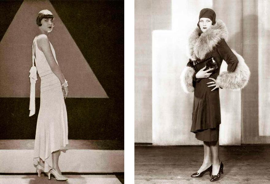 Модный лук 1920 год