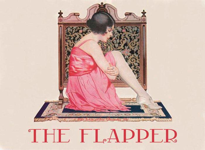 Модный постер 1920-х годов