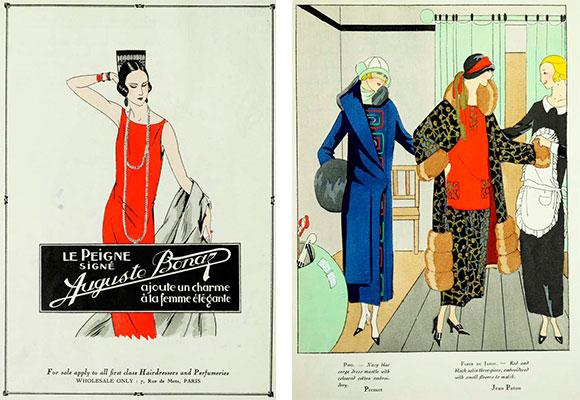 Обложка модного журнала 1920-х годов