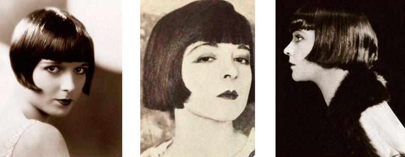 Популярная прическа 1920-х годов