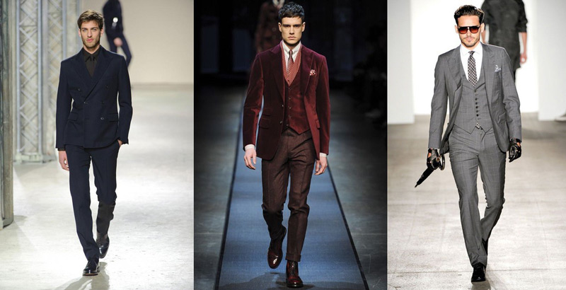 Три мужских образа в классическом стиле