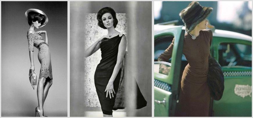 Три образа моделей в платьях-карандаш