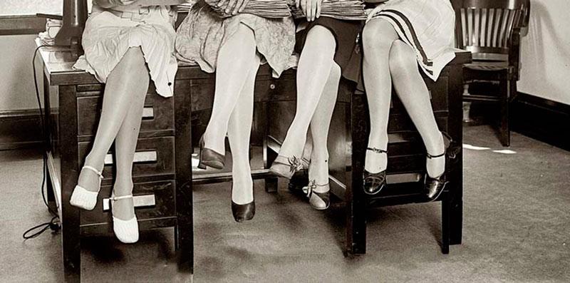 В 1920-х годах юбки стали короче