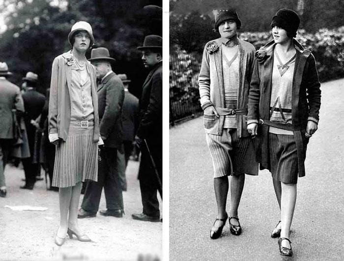 Женские костюмы от Chanel, 1926 год