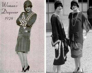 Женский лук 1928 года