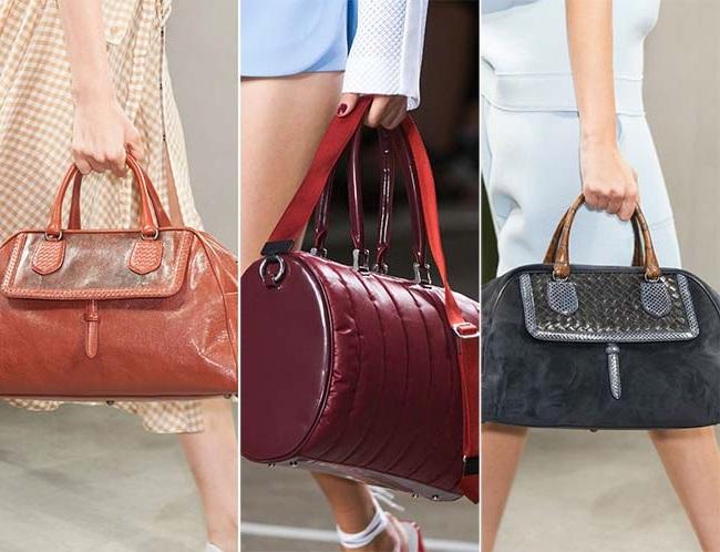 большие спортивные сумки, тенденции сумок весна-лето 2015