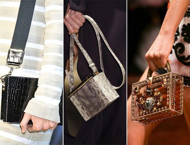 геометрические сумки, тенденции сумок весна-лето 2015