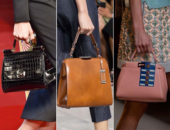 классические женские ретро сумки, тенденции сумок весна-лето 2015