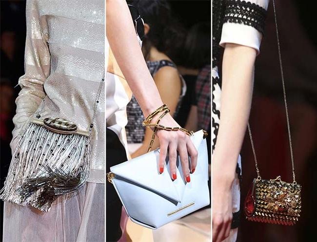 миниатюрные сумки 3, тенденции сумок весна-лето 2015