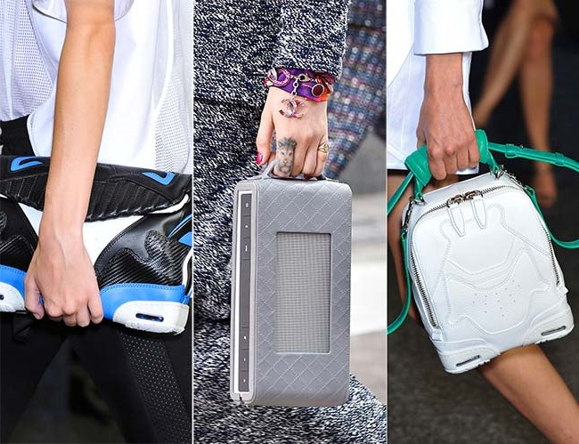 нетрадиционные экстраординарные сумки 2, тенденции сумок весна-лето 2015