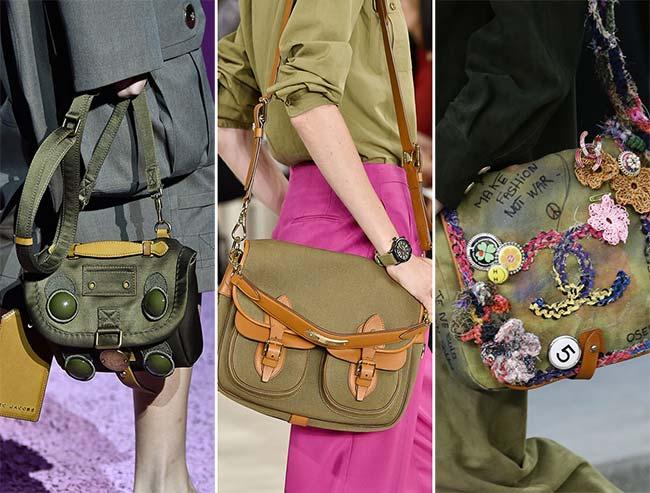 сумка-мессенджер, тенденции сумок весна-лето 2015