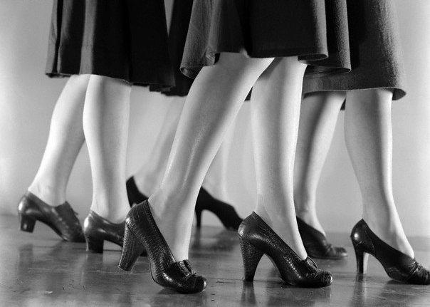 Туфли 1940-х годов